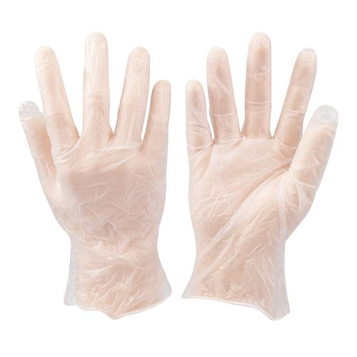 Silverline 675052 Disposable Vinyl Gloves Lightly Powdered 100 Pack Large